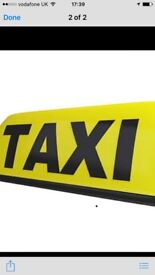 Taxi Hackney plate for sale