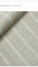 Ian Sanderson Gabriel stripe fabric