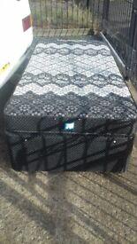 Good as new 2 single divan beds