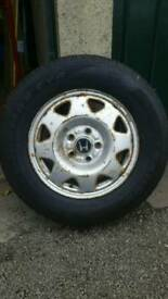 205 70 R15 TYRE ON HONDA CRV WHEEL