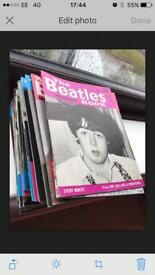 Pile of Beatle Monthly Magazines