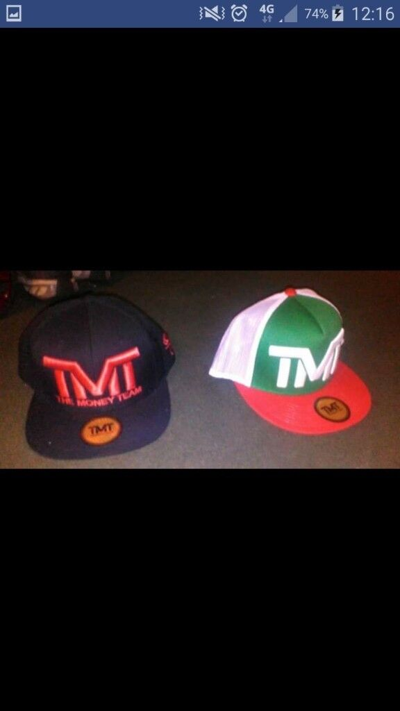 Official TMT The Money Team Floyd Mayweather Snapback Hat Caps ... 86a8678e454c