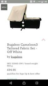 Brand new Bugaboo cameleon 3 fabric set with extendable hood