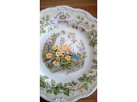 Royal Doulton Bramley Hedge Plate