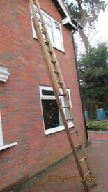Double Wooden Ladder