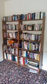 Ikea wooden bookshelves for sale - very good condition
