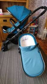 Icandy peach 2016 peacock pram pushchair