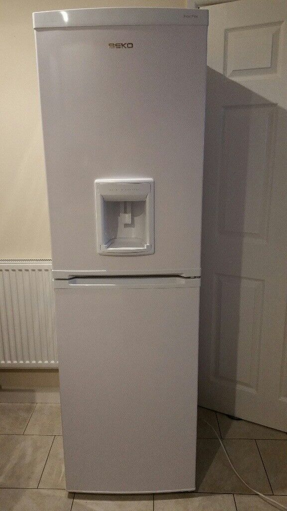 Beko Tall Fridge Freezer With Water Dispenser In Swansea