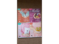 4 issues of Mollie Makes, issues 33, 34, 35 and 36