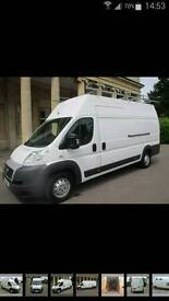 WhiteVan Man. A very big Van for hire probably the cheapest around prices start for £15