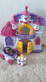 Princess palace/castle with sound & lights