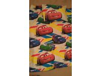Pixar cars toddler bed set
