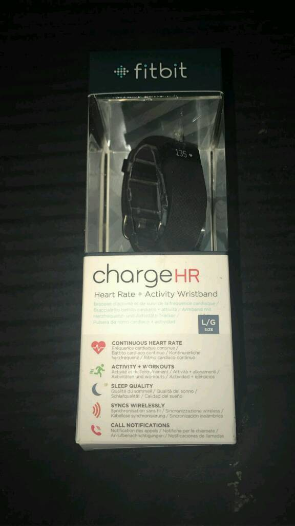 Brand new fitbit hr charge