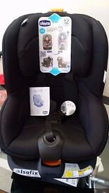 Chicco Oasys 1 Isofix Group 1 Car Seat - Black