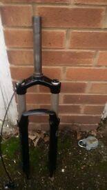 120mm Raidon x1 air forks straight steerer