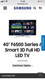 Samsung F6500 SMART HD 3D