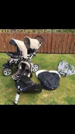 Jane Powertwin Pushchair