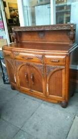 Vintage sideboard solid oak