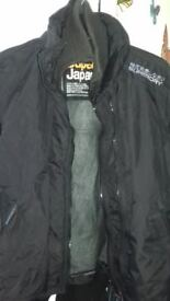 SUPERDRY UNISEX BLACK JACKET