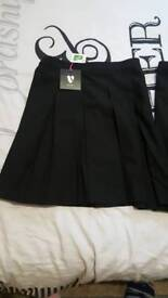 ×2 school skirts brand new!