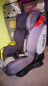 Car seat isafe 1,2,3 group