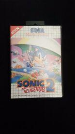 Sonic the Hedgehog 2 game for Sega Master System