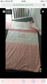 Red kite cot bedding set
