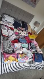 huge bundle of 2 - 4 years old clothes. 200 items