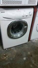 HOOVER WHITE MEGA LOAD WASHING MACHINE 3 MONTHS GUARANTEE