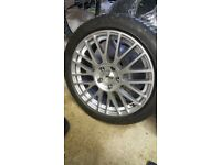 4 x TSW 5 stud Alloy Wheels - Excellent condition