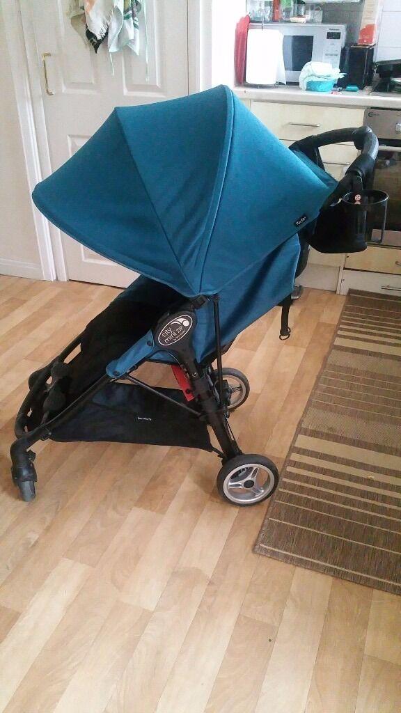 Baby Jogger City Mini Zip Teal Stroller Harrow London In
