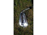 Taylor Made M1 Irons (4-PW) Stiff shaft - steel. NEW