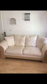 DFS sofa and armchairs