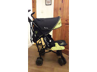 Silver Cross Pop Pushchair Green silvercross