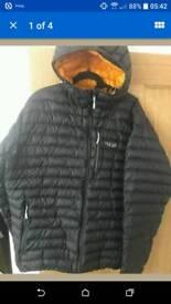 MEN'S rab microlight alpine jacket size xxl in excellent condition