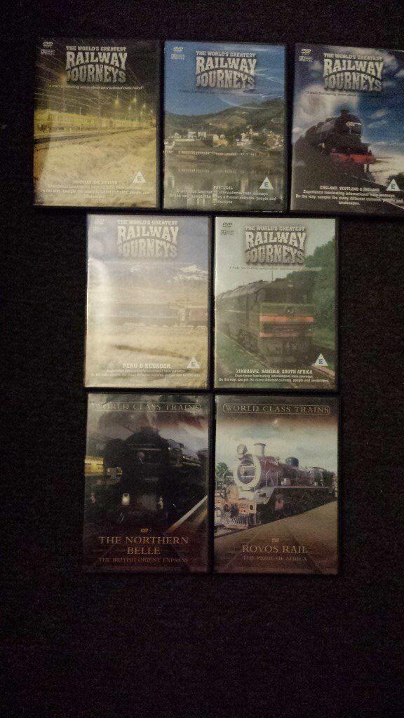 7 x railway dvds