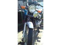 Honda cg 125 57plate