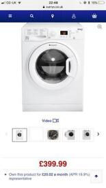 HOTPOINT WMFUG 863P UK 8 kg 1600 Spin Washing Machine - White new graded