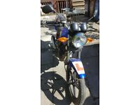 Sinnis Max2 motorbike rarely used
