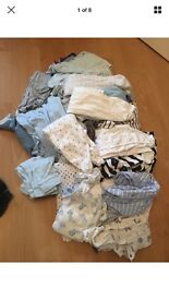 Baby Boy Clothes - First Size & 0-3 Bundle
