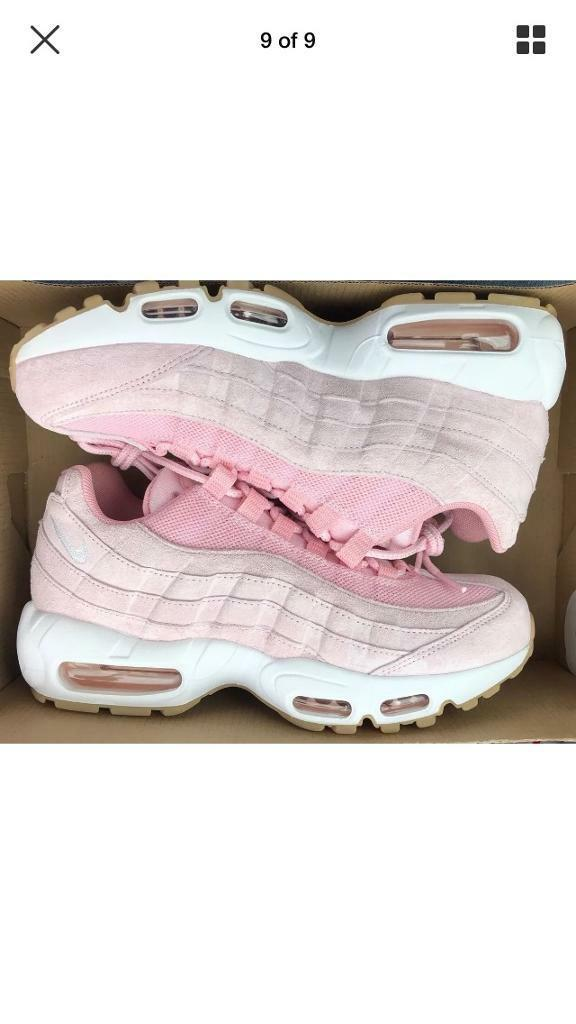 best service baeec b2e92 Pink 95s Nike airmax | in Cinderhill, Nottinghamshire | Gumtree