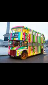 Wanted double decker bus for school project