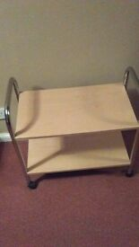 small trolley stand,2 shelves