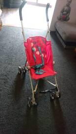Koochi pink stroller