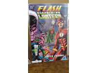 THE FLASH & GREEN LANTERN FASTER FRIENDS #1 #2 Signed. With COA. 3 of only 50.