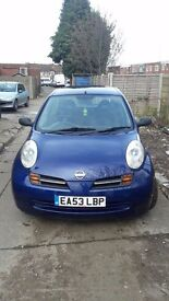 Nissan Micra 1.0 16v SE 5dr SPARES & REPAIRS