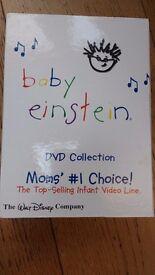Baby Einstein 22 Disc DVD Box Set Collection Region 1 D