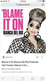 Bianca del Rio tickets x2