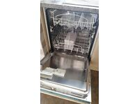 Integrated dishwasher. Slimline