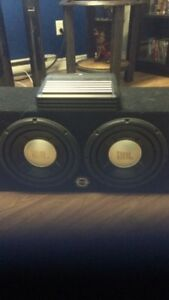 2x 10inch JBL subs/fitted box/Alpine Amp